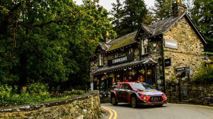 Neuville start sterk en staat meteen op 2 in Rally van Wales