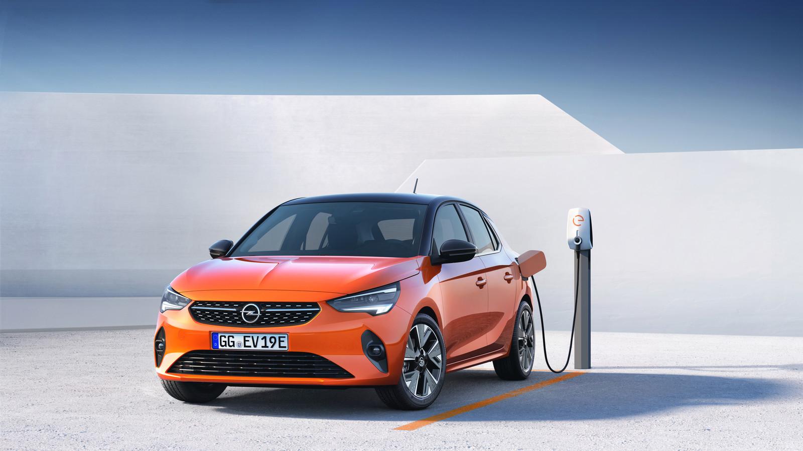 De Opel Corsa-e gaat de concurrentie aan met de Renault Zoe en de Peugeot 208.