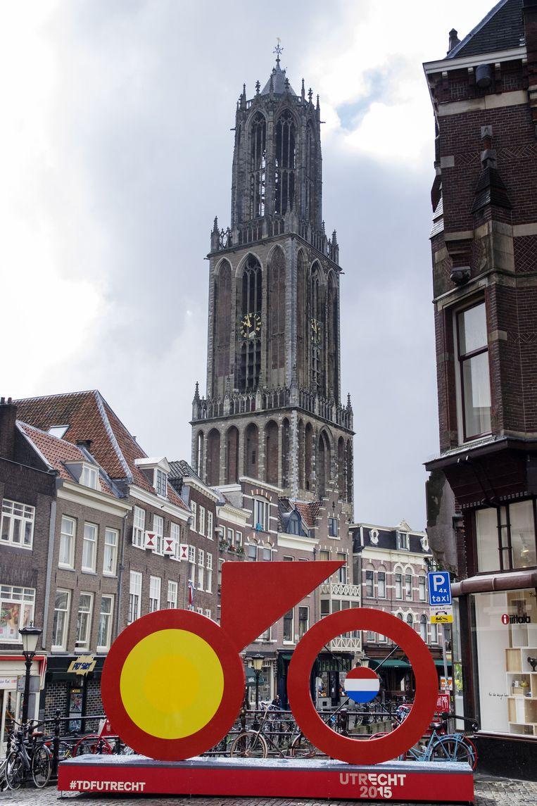 Start Tour de France - Utrecht. 'De mensen hier zijn er nog fanatieker over dan in Parijs.' Beeld HH