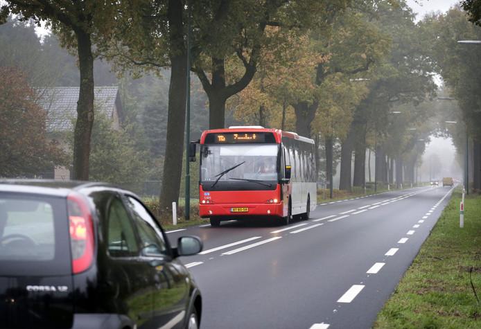 Lijn 115 op weg van Breda naar Wernhout. Foto Joyce van Belkom/Pix4Profs