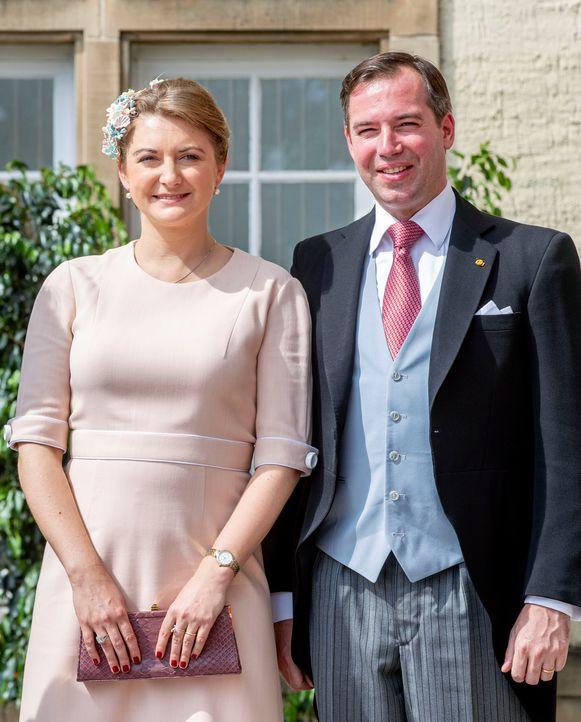 Kroonprins Guillaume en zijn vrouw Stéphanie verwachten na zeven jaar huwelijk hun eerste kind.