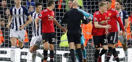 Manchester United weer tweede na zwaarbevochten zege