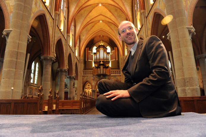 Theo Lamers, pastoor van de Heilige Martinus Parochie in Cuijk.