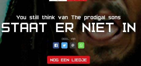 Erwin Nyhoff uit Heeten en Lisanne Spaander uit Harderwijk niet in Top 2000