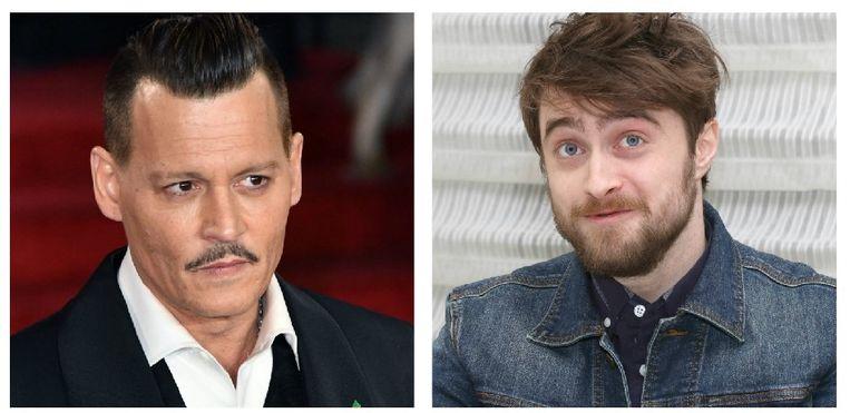 Johnny Depp en Daniel Radcliffe.