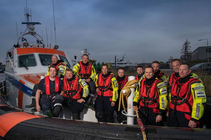 De Koninklijke Nederlandse Redding Maatschappij (KNRM) op Urk.