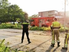 Brand in leegstaand pand in Nijmegen, brandweer gaat uit van brandstichting