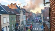 Zolder brandt uit tijdens renovatiewerken