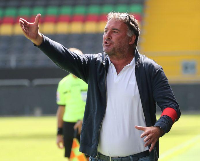 Yves Van Borm (Knokke FC) kan weinig begrip opbrengen voor de beslissing van de KBVB.