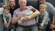 Kiano zorgt voor derde viergeslacht bij familie Plum