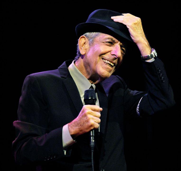 Leonard Cohen. Beeld ap