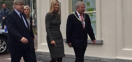 Koningin Máxima opent Buzinezz Forum in Utrecht