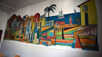 Muurschildering Theo Humblet gered van sloop