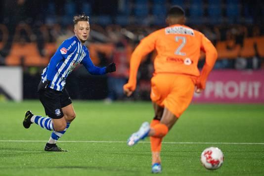 Youri Roseboom voetballend bij FC Eindhoven