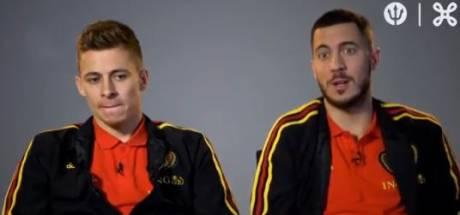 """Les Hazard veulent aller au bout à l'Euro: """"Tout est réuni pour gagner quelque chose"""""""