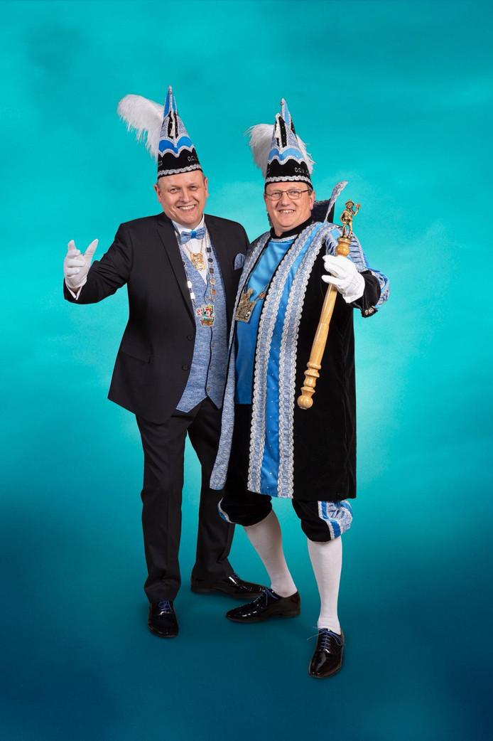 Vorst Patrick en sik Marcel van de Glasbloazers uit Oldenzaal.