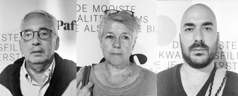 Huib Kleijn, Kathrien van Dam en Alwin Helmink Beeld -