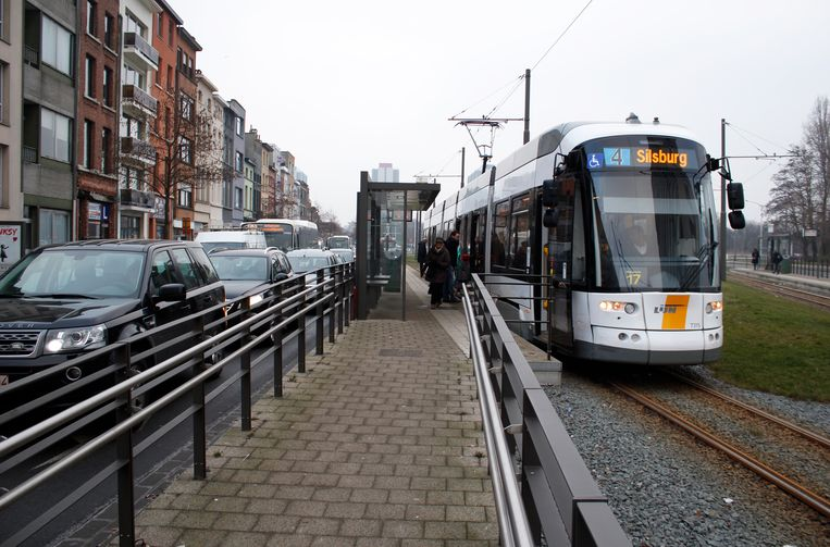 Tram 4, vanaf 23 april 2019 weer van Silsburg naar Hoboken.