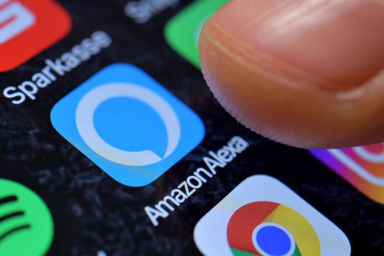 De app om Amazon Alexa te bedienen vanaf je smartphone.