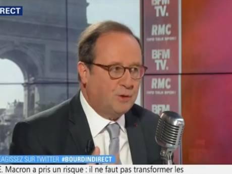 """François Hollande """"regrette"""" de ne pas s'être présenté à la présidentielle de 2017"""