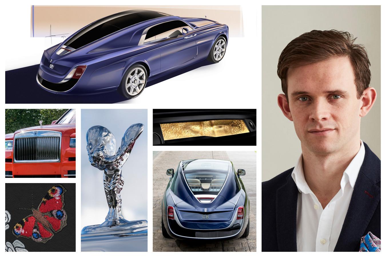 Alex Innes is 'Head of Coachbuilt Design' bij Rolls-Royce