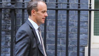 Britse brexit-minister Dominic Raab onverwacht in Brussel, toch geen witte rook over akkoord