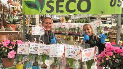 Tuincentrum schenkt voorraad plantjes aan bewoners rusthuis