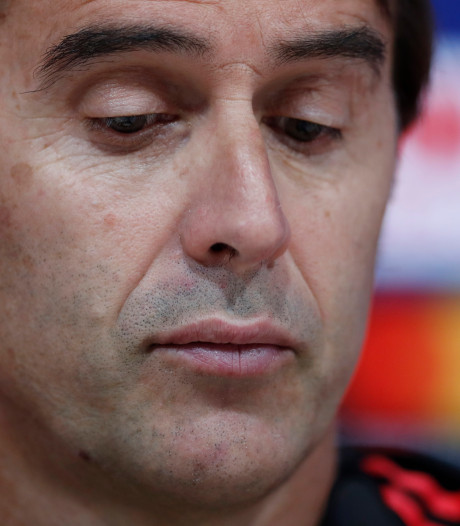 Lopetegui: Morgen ben ik ook nog coach van Real Madrid