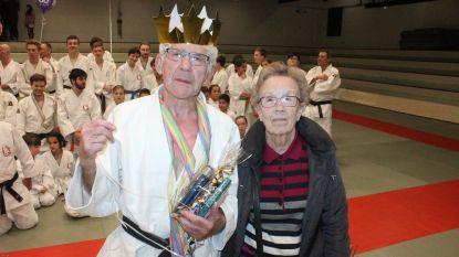 """Bijna 80, maar Jean staat elke week op de tatami als judocoach: """"Ik zwier ze nog met gemak over mijn schouder"""""""