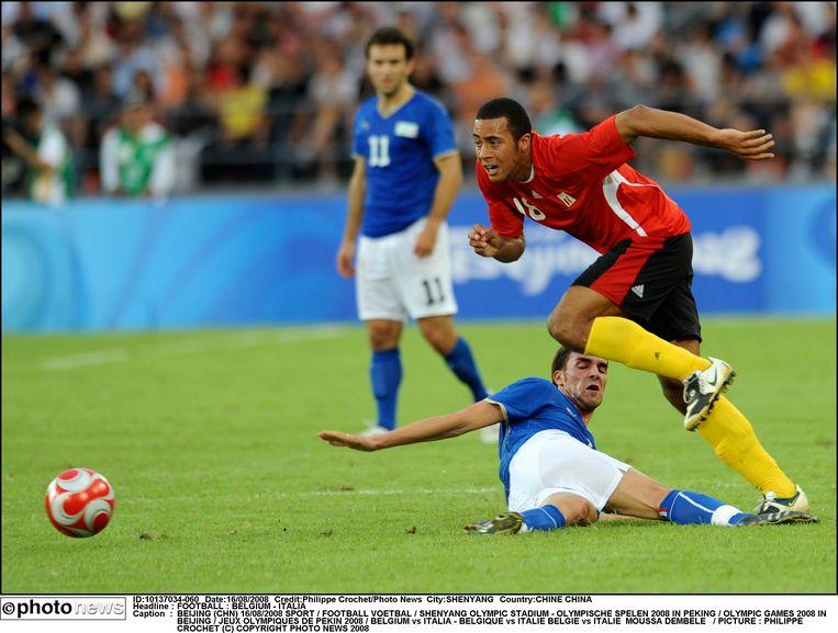 Op de Olympische Spelen verslaat de Belgische ploeg Italië met 3-2 in de kwartfinale. Mousa Dembélé schiet België in de 79ste minuut naar de halve finale.