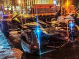 'Te grote' Batmobile van weg gehaald in Moskou