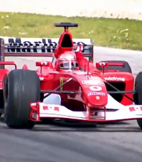 La légendaire F2002 de Schumi aux enchères