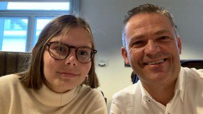 Hanna Doumen (16) een dag in het spoor van de burgemeester