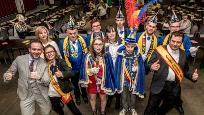 Bart en Melissa gekroond tot eerste prins en prinses carnaval van Staden