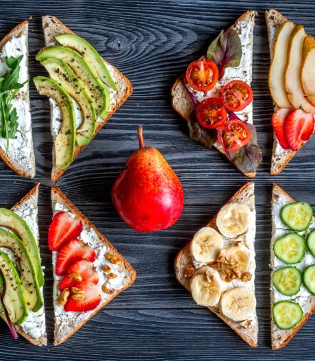 Nederlanders eten maar weinig groente bij ontbijt en lunch