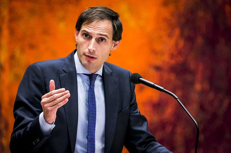Wopke Hoekstra, minister van Financien. Beeld ANP