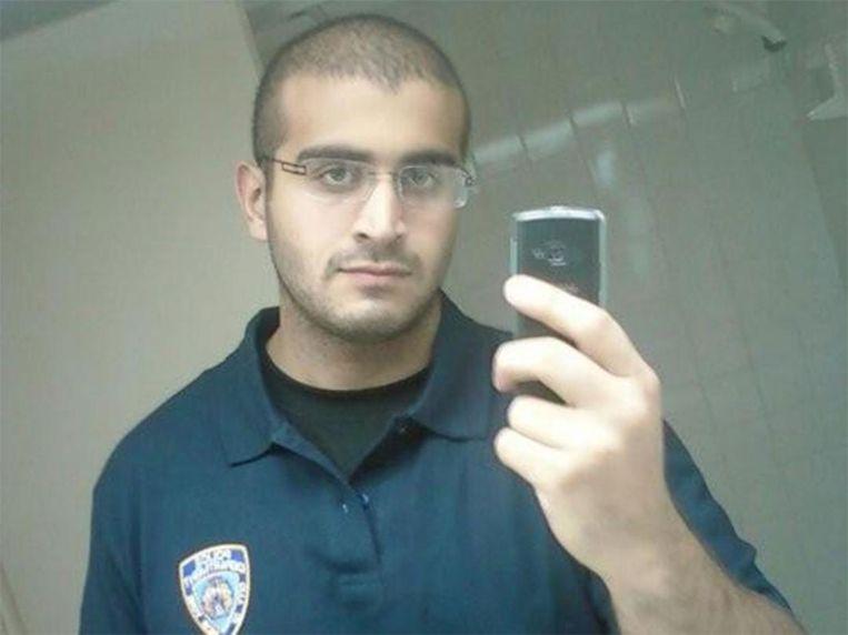 Omar Mateen, is door de FBI geïdentificeerd als de enige dader van een aanslag op een gayclub in Orlando, op 12 juni 2016. Daarbij vielen zeker 50 doden. Mateen betuigde in een telefoontje aan 911 zijn steun aan terreurorganisatie IS. Die claimde vervolgens de aanslag. Beeld MySpace