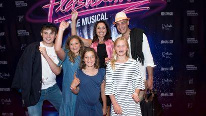 Bekend Vlaanderen haalde vanavond hun dansschoenen uit de kast voor de première van 'Flashdance'