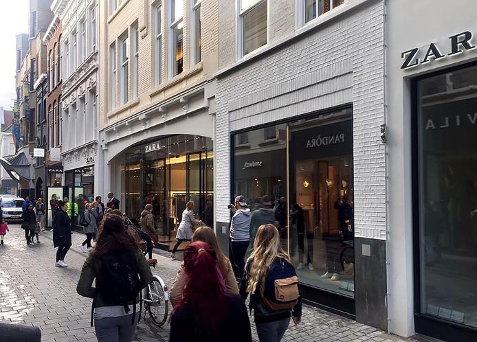 Opening Zara in Breda Foto Tom Hayes