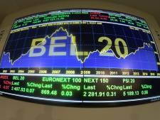 Le Bel 20 de la Bourse de Bruxelles recule de plus de 8% en 2020