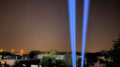 Light in The Sky verlicht Aalsterse skyline om zorghelden te eren