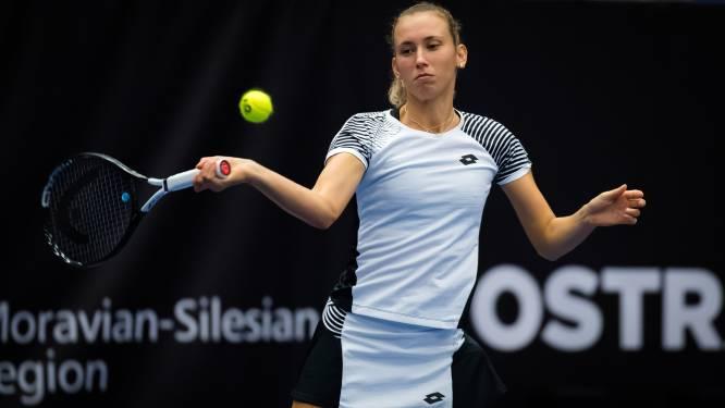 Mertens stoot in drie sets door, Minnen uitgeschakeld in Linz