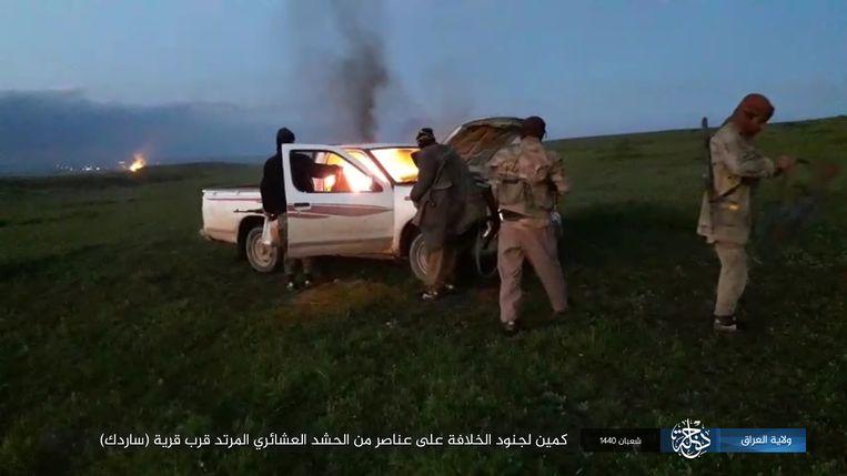 Moordaanslag op een lokale gezagsdrager in het Koerdische stadje Sartak.