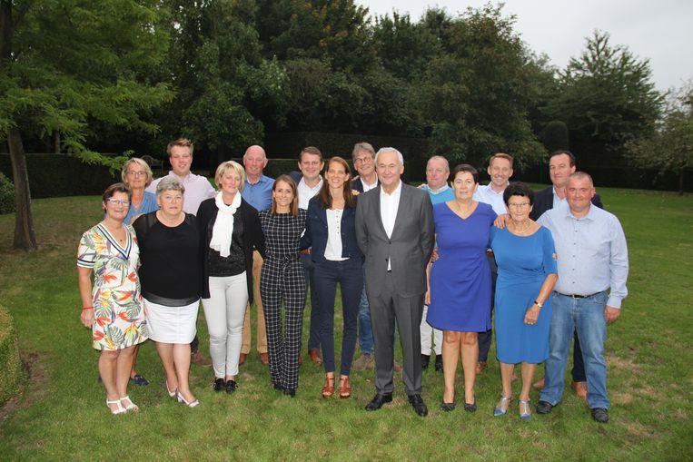 Archieffoto - Thijs Cousaert (achteraan links) en Willem-Jan Baert (derde van links op de laatste rij) krijgen in 2023 hun kans als schepen.