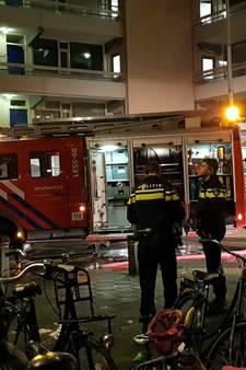 Brand in hoekwoning flat Veenendaal