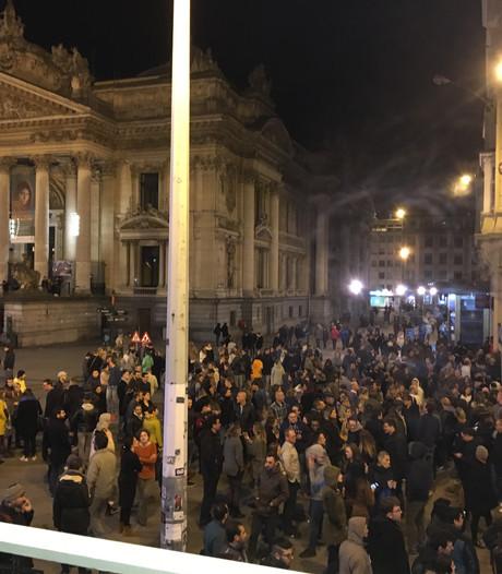 Concertzaal in Brussel ontruimd na bommelding