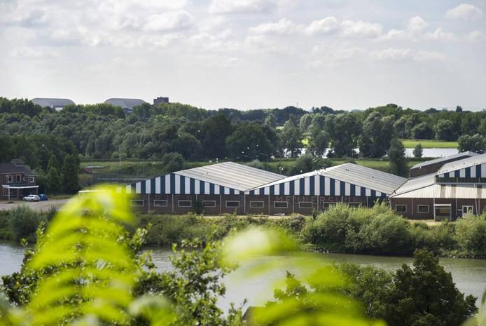 Het bedrijventerrein in Meinerswijk dat mogelijk plaats maakt voor woningen. Foto Rolf Hensel