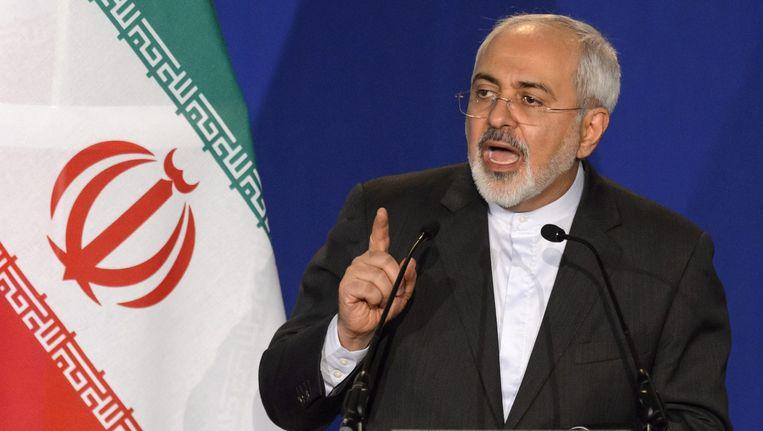 Minister van Buitenlandse Zaken Mohammad Javad Zarif. Beeld epa