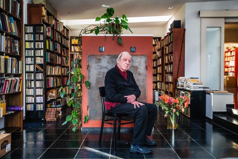 Jeroen Brouwers' nieuwe roman is vernoemd naar de verteller, die een dag lang – en een boek lang – aan het woord is. Beeld Aurélie Geurts