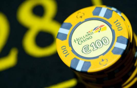 Fiches van het casino.